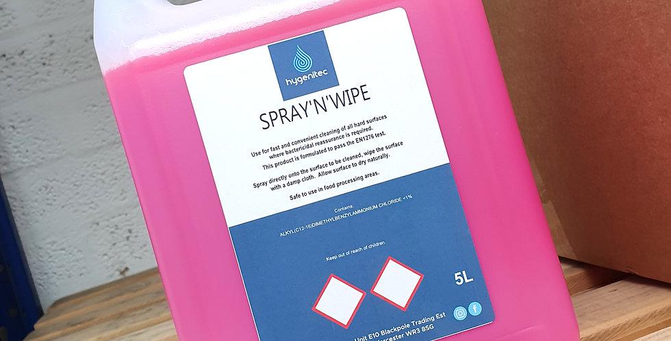 Spray'n'Wipe 5ltr