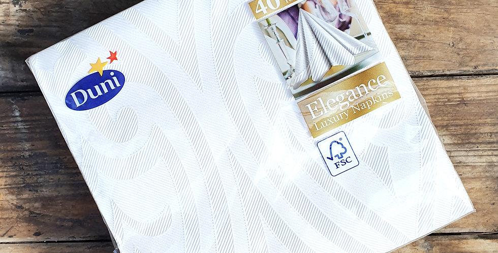 Linen Effect 48cm Napkins x400