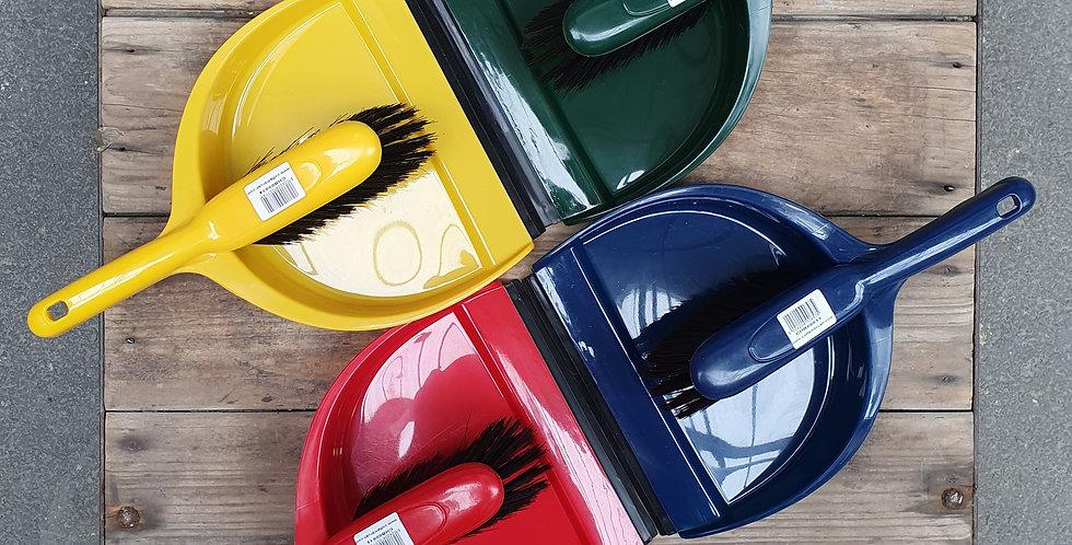 Plastic Dustpan and Brush