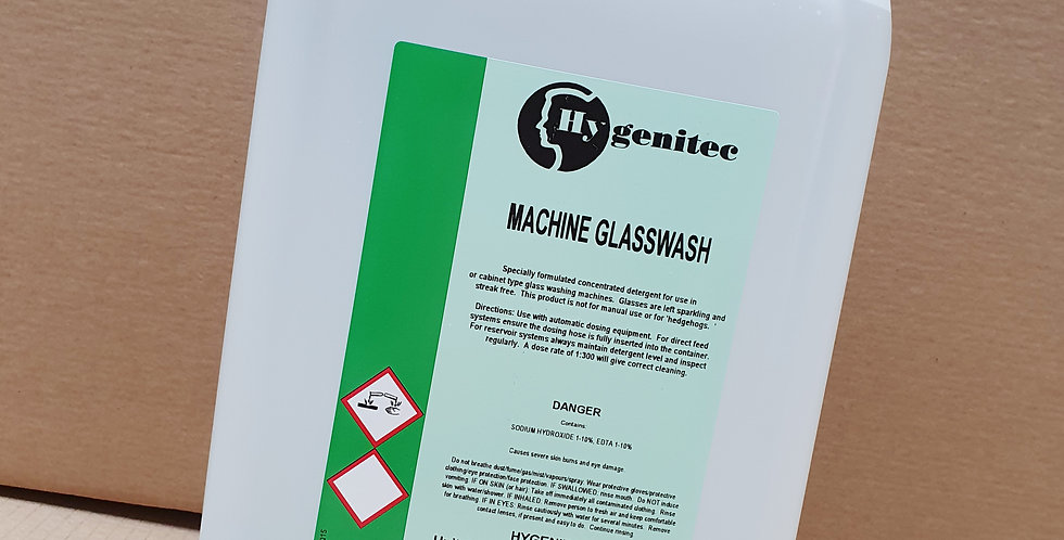 Machine Glasswash 5ltr