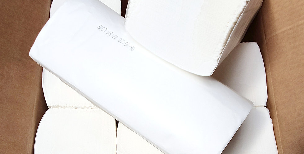 Luxury White In'Fold Towels