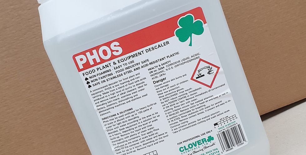 PHOS Equipment Descaler 5ltr