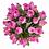Thumbnail: Arreglo floral en florero ánfora con 24 rosas rosadas