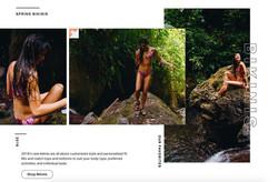 Camille Fiducia Backcountry swim
