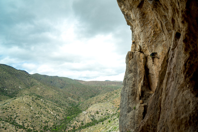 Rainy Day Cragging in the Utah Hills - The Cathedral