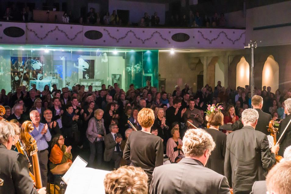 Standing Ovations nach dem Konzert