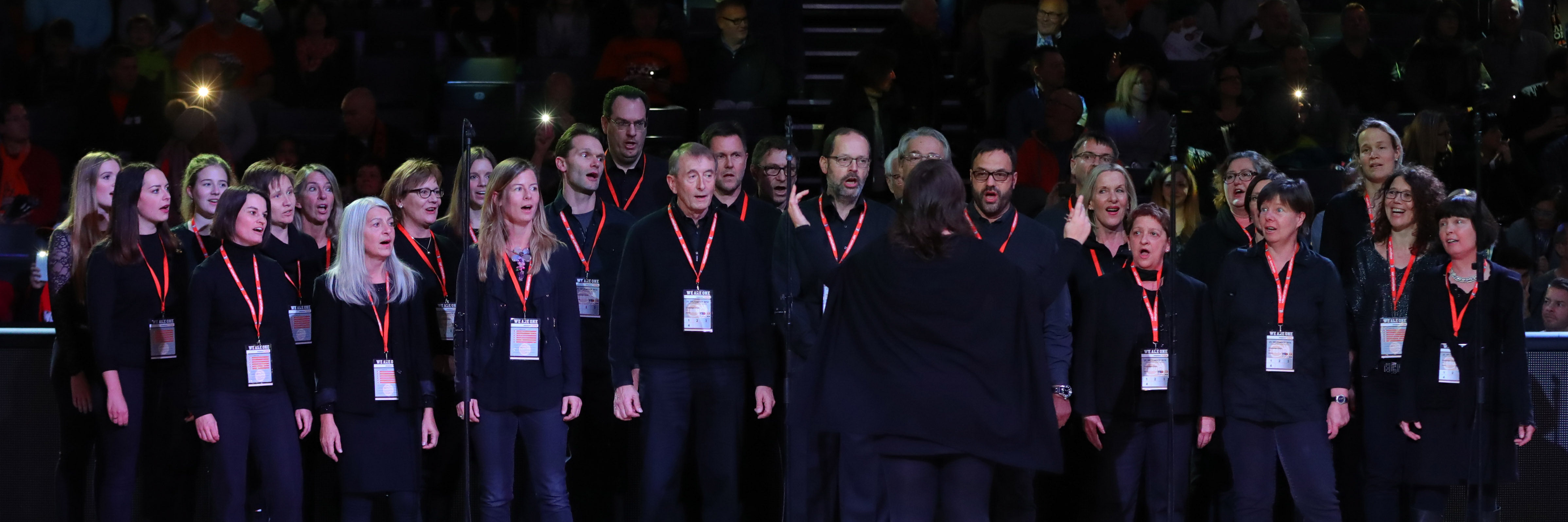 Oratorienchor Ulm, Ratiopharm Arena