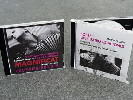 CDs vom Palmeri-Konzert