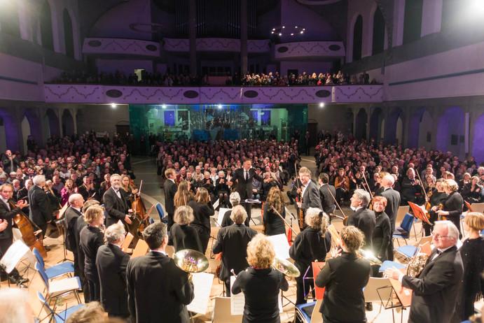 Kammerphilharmonie Bodensee-Oberschwaben und Publikum