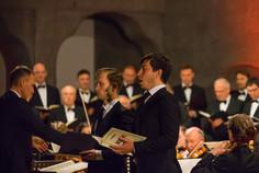 Frederic Jost (Bass) und Benjamin Glaubitz (Tenor)