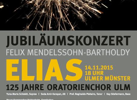 Jubiläumskonzert 125 Jahre Oratorienchor Ulm