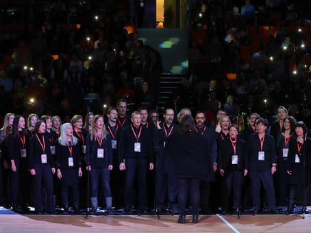 Oratorienchor singt in der Ratiopharm Arena