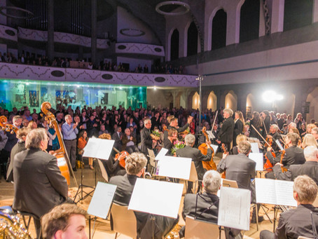 Was für ein Konzertabend