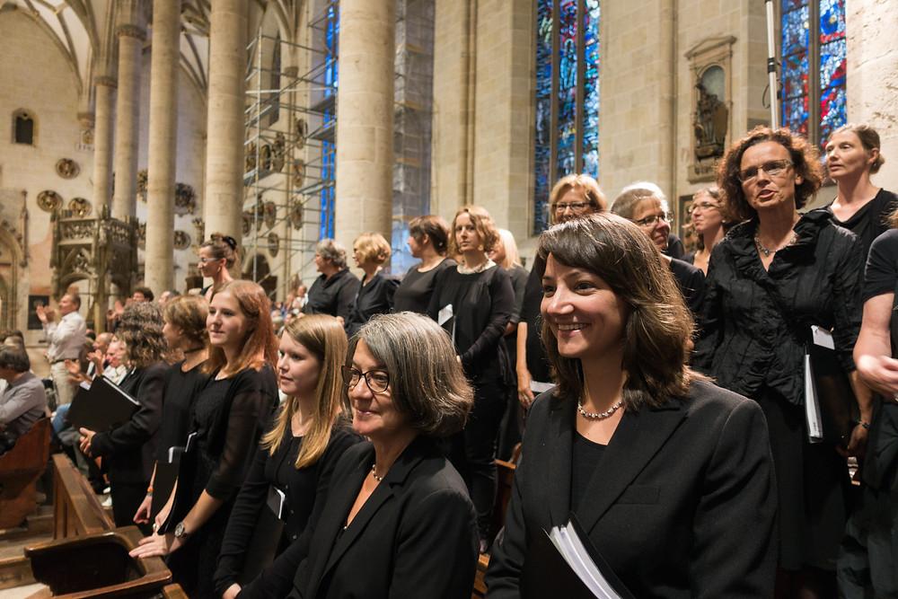 Unser Chor nach dem Konzert