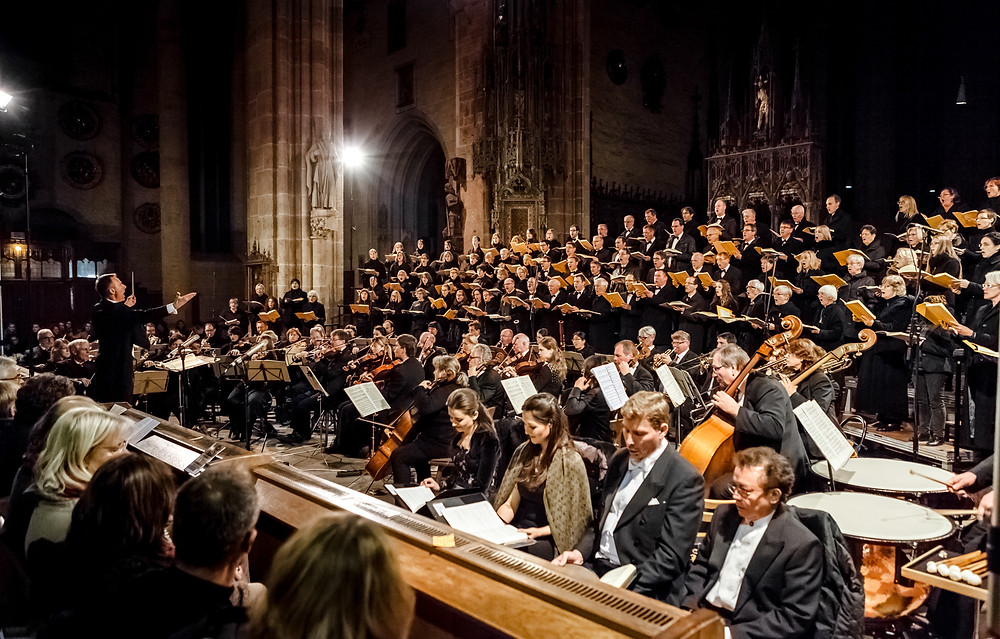 Oratorienchor Ulm: Jubiläumskonzert 11/2015
