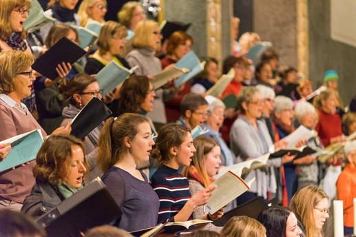 Generalprobe Requiem - Oratorienchor Ulm
