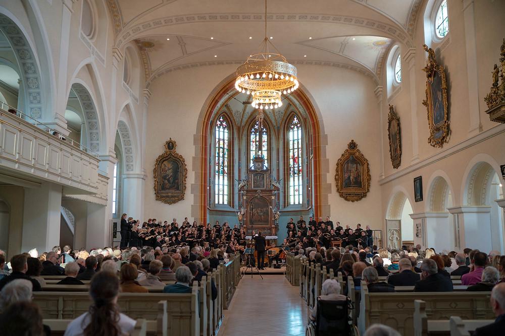 Oratorienchor Ulm: Johannes-Passion Konzert 04/2019