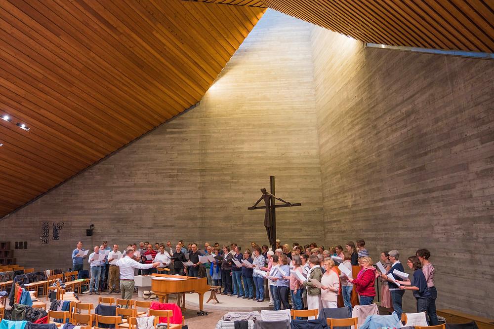 Oratorienchor Ulm: Probe zum Sommerkonzert 2019