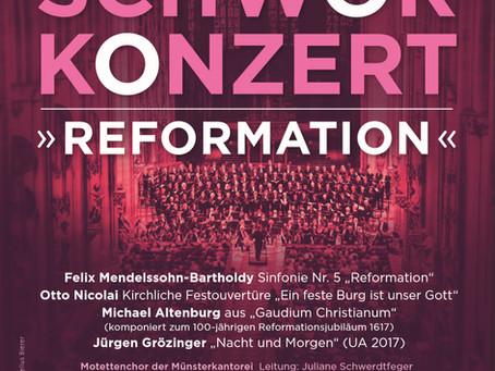 Uraufführung beim Schwörkonzert 2017