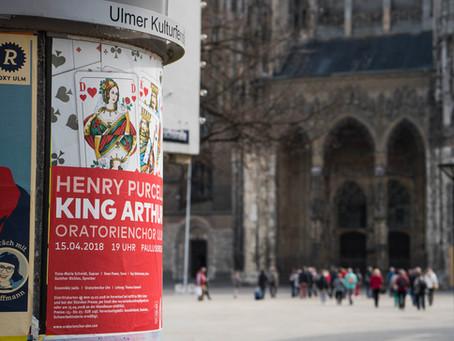Ulm, 4 Tage vor dem Konzert