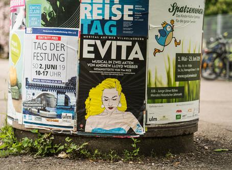 """Morgen geht's los auf der Wilhelmsburg mit """"Evita"""""""