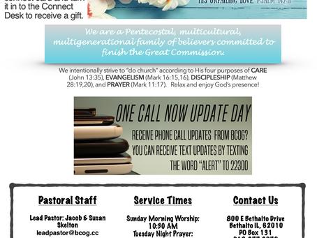 5-16-21 Bulletin