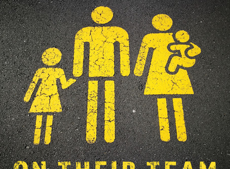 """Introducing Our Parenting Podcast: """"On Their Team"""""""
