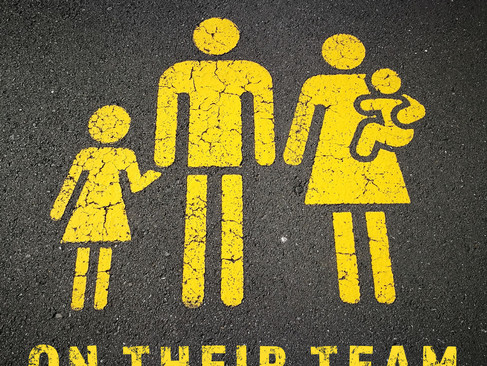 "Introducing Our Parenting Podcast: ""On Their Team"""