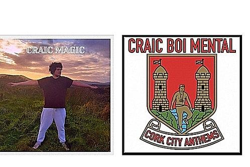 Craic Magic & Cork City Anthems (2 CD'S €14)