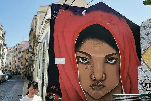Tour de arte callejero en tuk tuk