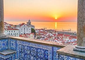 Miradouro Santa Luzia, Alfama, Lisboa
