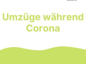 Corona 2021 - Was gilt bei einem Umzug während Corona