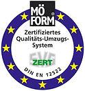 MÖFORM Zertifikat