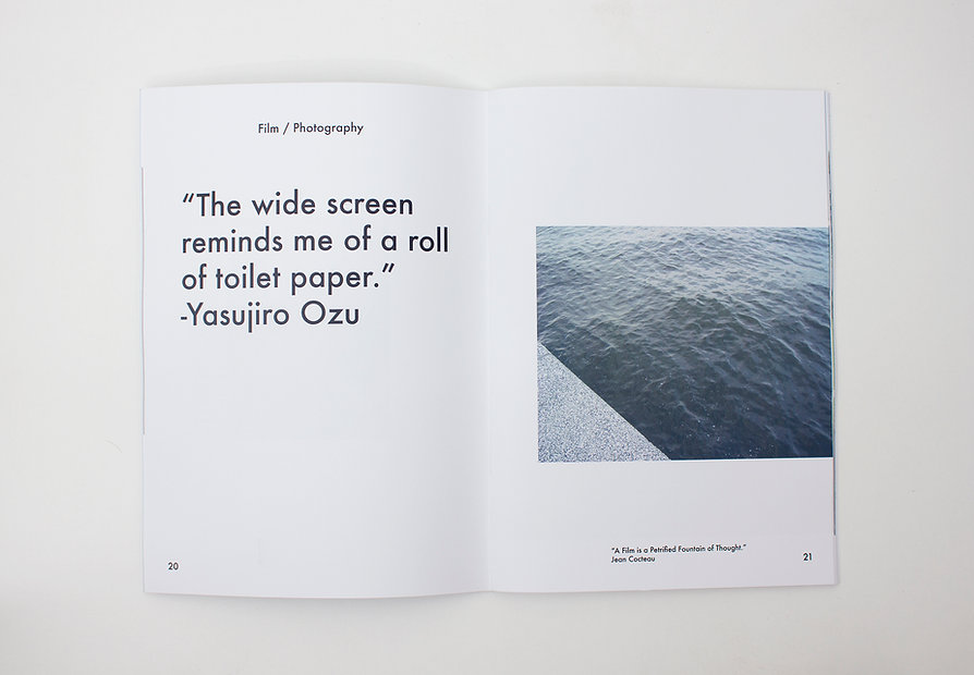 A limited run of 6 copies, design, research and photography by Sophie Willison.
