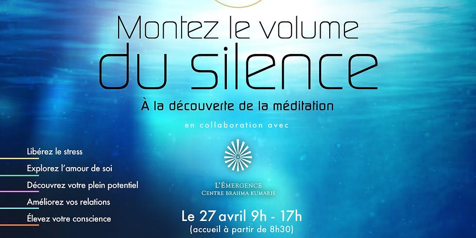 Montez le volume du silence