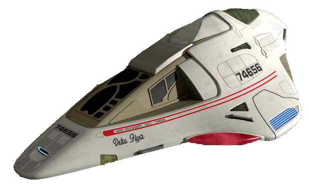 1:72nd scale Delta Flyer