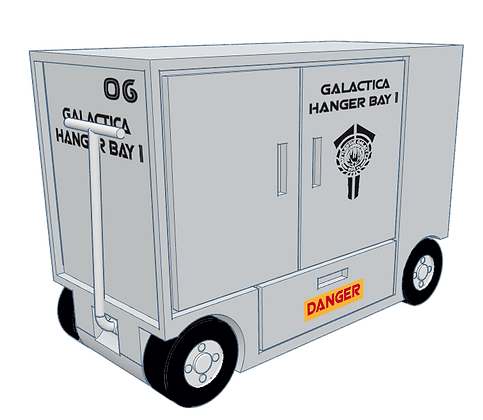 1:32nd scale 'BSG' Tool Cart