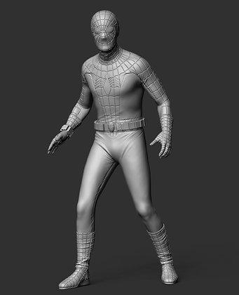 "Spiderman 9"" resin figure"
