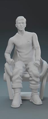 1:32nd Star Trek TOS figures (seated)