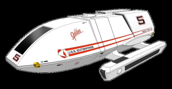 1:72 scale Type 4 shuttle