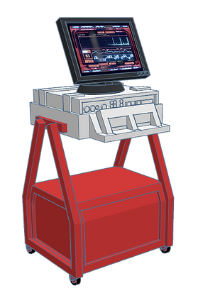1:32nd scale 'BSG' Computer Station