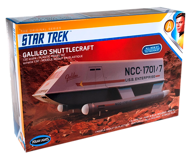 TOS Galileo Shuttlecraft 1-32 scale pack