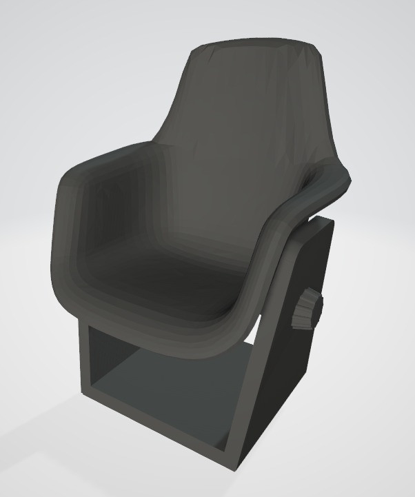 1:32nd TOS Shuttle Chairs