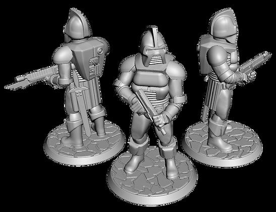 28mm Cylon Centurions