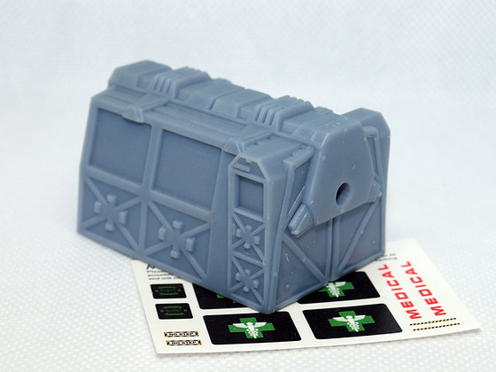1:72nd scale Medical Pod