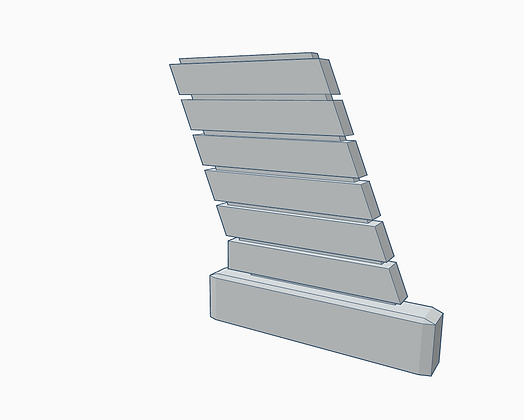 1:32nd scale 'BSG' Viper Bay Wall Support 'D'