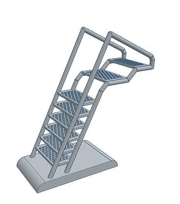 1:72nd scale 'BSG' Viper Bay Ladder v1