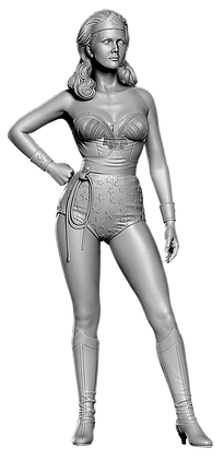 "Wonder Woman 9""scale  resin figure"