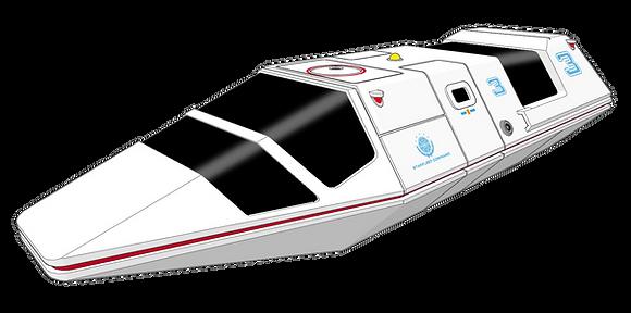 1:72nd scale Starfleet Air Tram