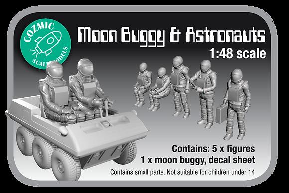 1:48 scale Moon Buggy & Astronauts